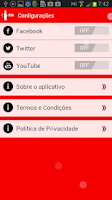 Screenshot of Coca-Cola FM Brasil