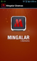 Screenshot of Mingalar Cinemas