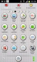 Screenshot of Squared GO Launcher EX Theme