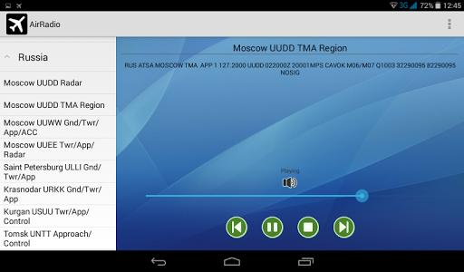 AirRadio - screenshot