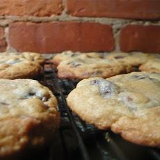 Cherry Dark Chocolate Chip Cookies