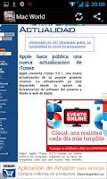 Screenshot of Revistas de Informática