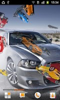 Screenshot of World of Cars Live Wallpaper