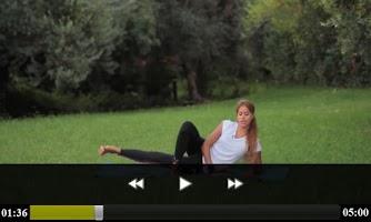 Screenshot of تمارين رياضية