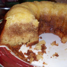 Honey Bun Pineapple Upside-Down Cake
