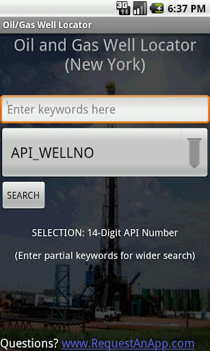 Oil and Gas Well Locator LITE