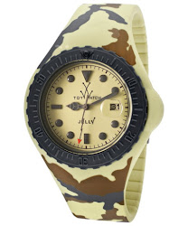 TOYWATCH Men's Jelly Yellow Dial Yellow Camouflage Silicone TOYWATCH-JYA03SY Watch