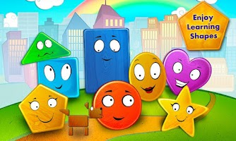 Screenshot of Friendly Shapes