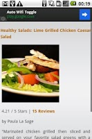 Screenshot of Healthy Recipes!