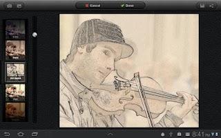 Screenshot of UberIris Photo Filters Tablets