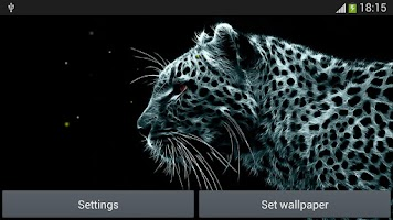 Screenshot of Leopard Live Wallpapers