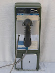 Single Slot Payphones - Bell South Green 1971 loc C-8