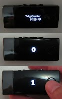 Screenshot of Tally Counter for SmartWatch