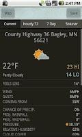 Screenshot of Scoutlook Fishing Weather