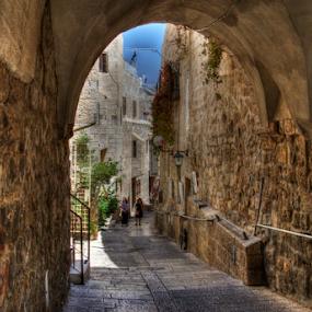Jerusalem by Yuval Shlomo - City,  Street & Park  Historic Districts