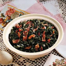 German-Style Spinach