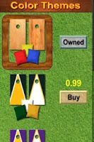 Screenshot of CornHole 3D Bag Toss Game