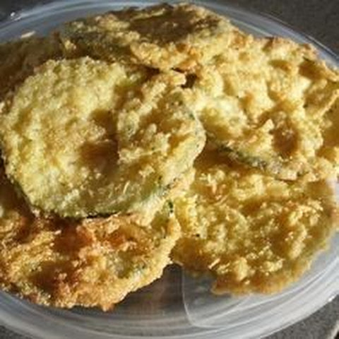 how to make fried zucchini batter