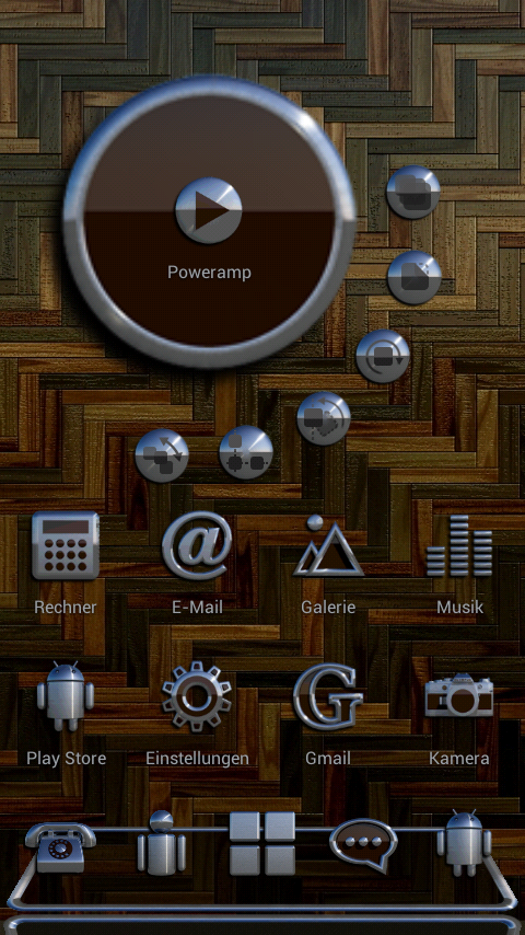 PARIS Next Launcher 3D Theme Screenshot 1