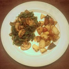 Cameroonian Fried Spinach