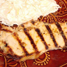 Grilled Orange Maple Mustard Pork Chops (Bbq)