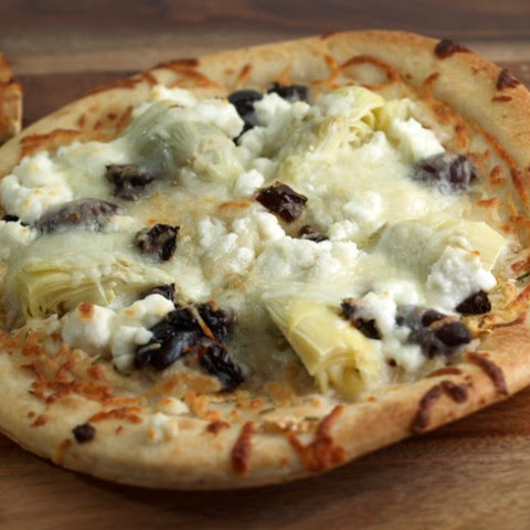 Artichoke Heart And Goat Cheese Pizza