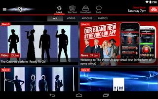 Screenshot of The Voice UK