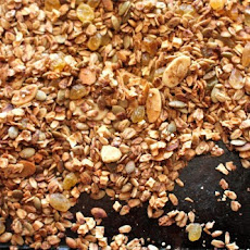 Chai Spice Granola with Dried Apple and Almonds