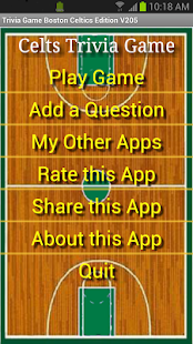 Trivia Game Boston Celtics Ed - screenshot