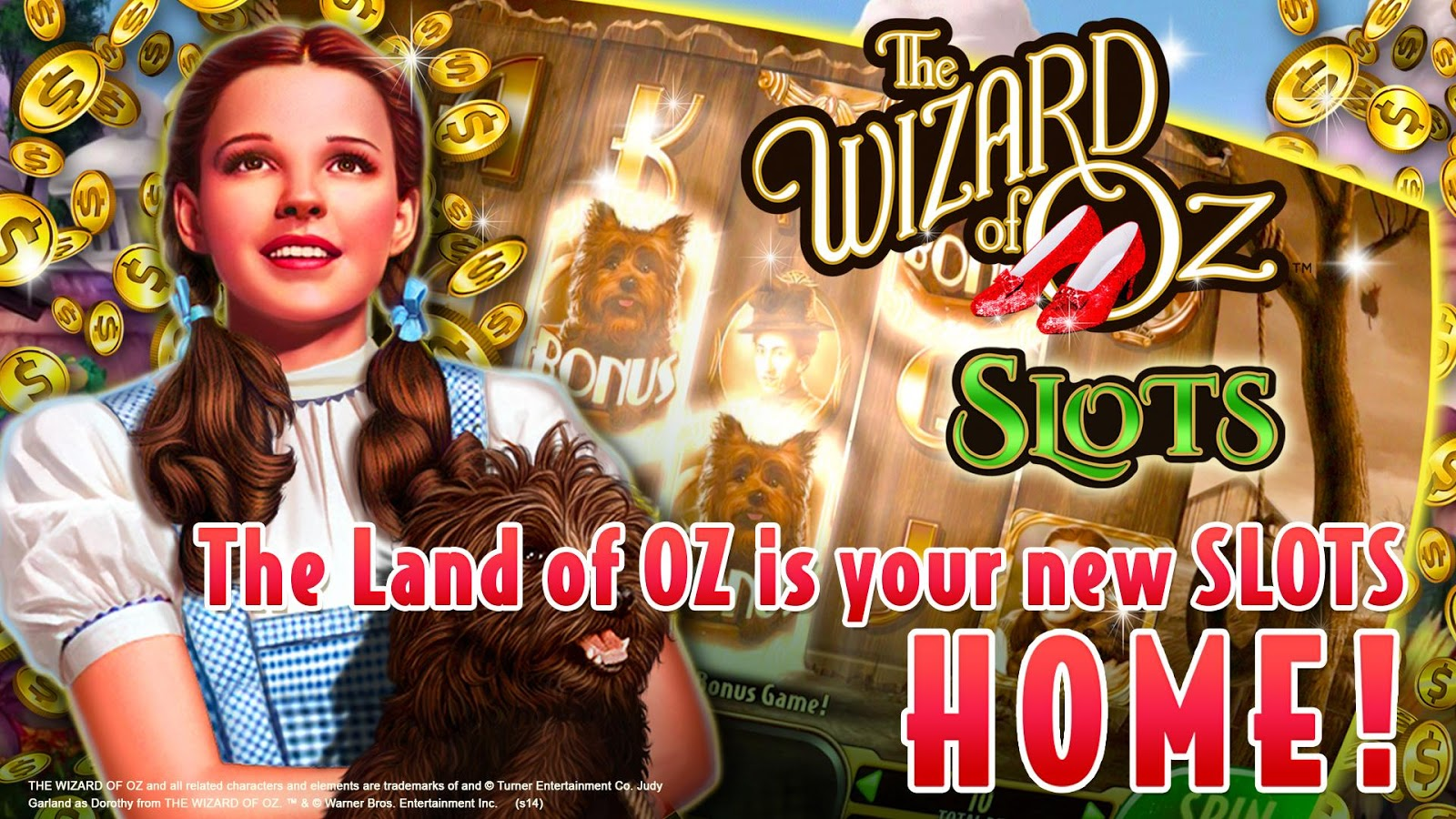 download the wizard of oz for free slots