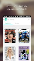 Screenshot of Lekiosk - magazines, anywhere.