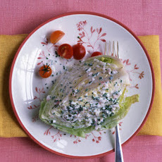 Iceberg Wedges with Buttermilk Dressing