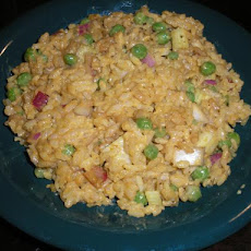 Oriental Curried Rice Salad