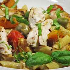 Creamy Chicken and Pumpkin Pasta (Ww)
