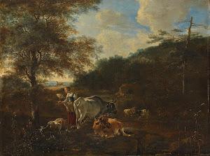 RIJKS: Adam Pijnacker: painting 1653