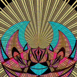 Life         ( PLEASE CLICK ON ME ) by Yvonne Collins - Digital Art Abstract ( abstract, edited, love, patterns, illustration )