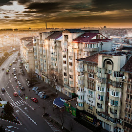 by Iulian Ciobanu - City,  Street & Park  Neighborhoods