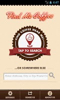 Screenshot of Find Me Coffee