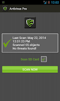 Screenshot of Free Antivirus Pro