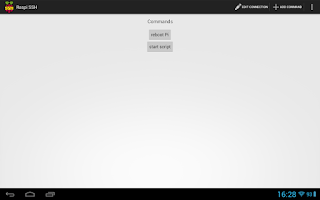 Screenshot of Raspi SSH