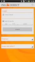 Screenshot of ING DIRECT Italia