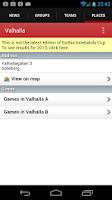 Screenshot of Gothia Innebandy Cup