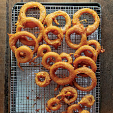 Beer-Battered Onion Rings