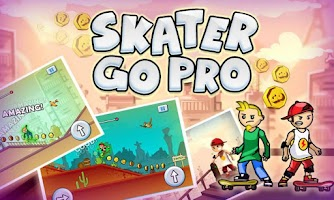 Screenshot of Skater Go Pro