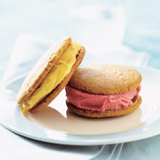 Ginger Cookie-Sorbet Sandwiches