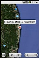 Screenshot of Japan Nuke Zone SAFETY + GPS