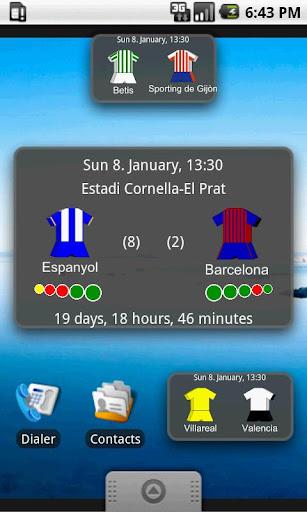 Next La Liga Match