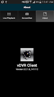 Screenshot of vDVR CLIENT (v3.2.1.6)
