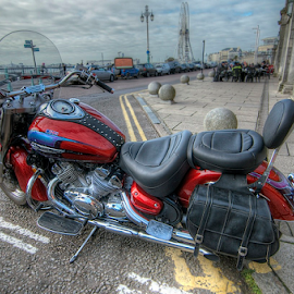 Taken brighton    seafront uk  by Mark West - Transportation Motorcycles