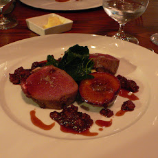 Venison With Plums and Calvados